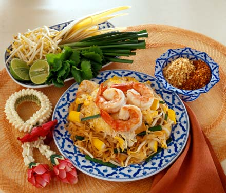 Best Thai Food Recipes Blog: Fried Rice Sticks with Shrimp